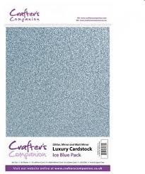 crafter s companion luxury cardstock