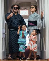 "Adam Liaw on Instagram: ""Matsuri time. I haven't worn my yukata in years.  Yukata and jinbei (these aren't kimono) are traditionally worn as… 