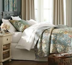 neena patchwork cotton quilt shams