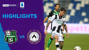 Sassuolo 0-1 Udinese | Serie A 19/20 Match Highlights - YouTube