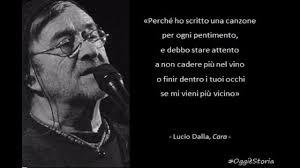 Cara Lucio Dalla - YouTube
