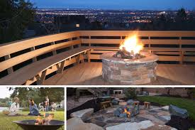 outdoor fire pits and fireplace ideas