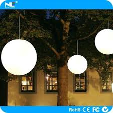 hanging ball lights