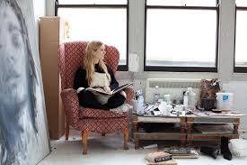 Axel Bernstorff Eleanor Johnson. Artist. Studio. Portrait. Natural ...