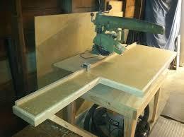Another Dewalt Radial Arm Saw 1 Dewalt Radial Arm Saw By Oregonwoodrat Lumberjocks Com Woodworking Community