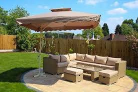 garden parasol garden furniture deals