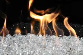 fireglass modern fireplace media