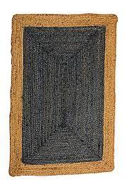 phoenix deep grey jute rug