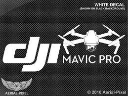Dji Mavic Pro Case Vehicle Decal Sticker Quadcopter Uav Etsy