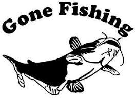Catfish Gone Fishing Decal Md Fishing Truck Boat Window Stickers Ebay