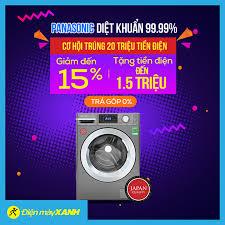 Máy Giặt Panasonic Diệt Khuẩn Đến 99,9%... - Điện máy XANH  (dienmayxanh.com)
