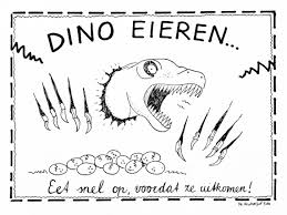 Gezonde Kindertraktatie Dinosaurus Eieren Incl E