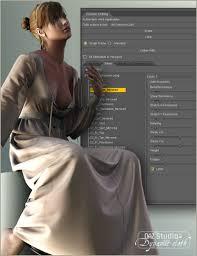dynamic clothing control 3d models