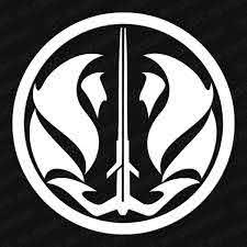 Star Wars Gray Jedi Code Symbol Vinyl Decal The Stickermart