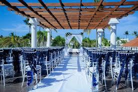 wedding ceremony setup picture of