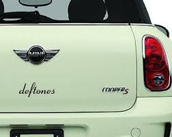 Deftones Sticker Etsy