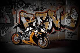 hd wallpaper white and orange ktm rc