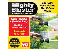 mighty blaster power garden sprayer