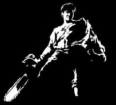 Evil Dead Vinyl Decal Sticker Horror Movie 70 S Retro Army Of Darkness Bruce