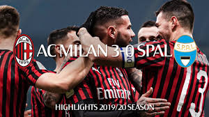 Highlights | AC Milan 3-0 SPAL | Coppa Italia Round of 16 - YouTube