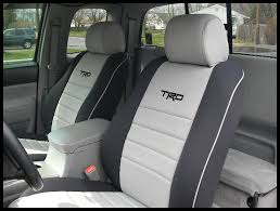 toyota tacoma seat covers wet okole
