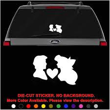 Amazon Com Ariel Prince Love Mermaid Die Cut Vinyl Decal Sticker For Car Truck Motorcycle Vehicle Window Bumper Wall Decor Laptop Helmet Size 20 Inch 50 Cm Wide Color Gloss Black