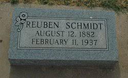 Reuben Schmidt (1882-1937) - Find A Grave Memorial