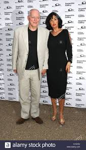 David Gilmour and Polly Samson The Serpentine Gallery summer party Stock  Photo - Alamy