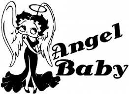 Betty Boop Angel Baby Decal Car Or Truck Window Decal Sticker Rad Dezigns
