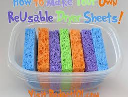 myo reusable dryer sheets diy laundry