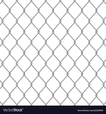 Creative Of Chain Link Fence Royalty Free Vector Image