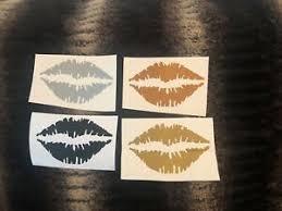 Kiss Mark Lips Decal Makeup Decal Car Decal Sticker Yeti Mug Decal Glass Decal Ebay
