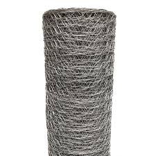 Acorn International Acorn 150 Ft X 4 Ft Silver Galvanized Steel Chicken Wire Garden Poultry Netting Rolled Fencing In The Rolled Fencing Department At Lowes Com