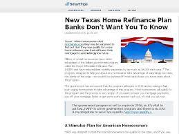 New Texas Home Refinance Plan Banks Don ...