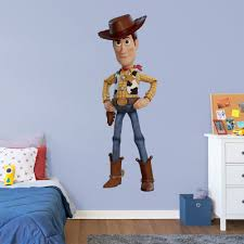 Fathead Toy Story 4 Woody Huge Officially Licensed Disney Pixar Removable Wall Decal Walmart Com Walmart Com