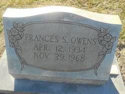 Frances Ola Smith Owens (1934-1968) - Find A Grave Memorial