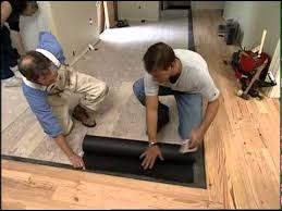 installing a reclaimed pine floor you