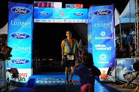 ironman triathlon finish line