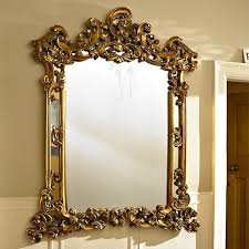 extra large gold ornate wall