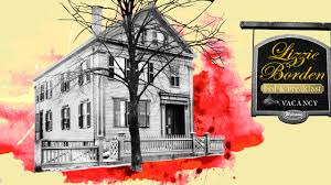lizzie borden house e for the ax