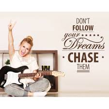 Chase Your Dreams Wall Decal Quote Contemporary Wall Decals By Style And Apply