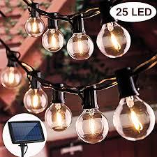 beacon pet solar outdoor string lights