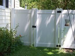 White Vinyl Fence Vinyl Fence Front Yard Fence