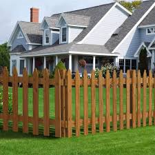 Outdoor Essentials 4 In X 4 In X 6 Ft Pressure Treated Cedar Tone Moulded Fence Post 162525 The Home Depot