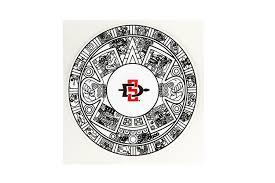 Shopaztecs Aztec Calendar Sd Spear Decal