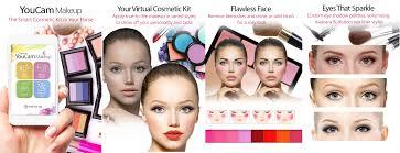put makeup on your face app saubhaya