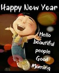 good morning 🎉🎉happy new year 🎉🎉 funny good morning