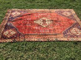 vintage persian rug hand knotted