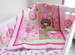 2016 pure cotton baby girl crib bedding