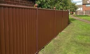 low maintenance metal garden fencing